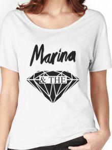 matd diamond old logo  Women's Relaxed Fit T-Shirt
