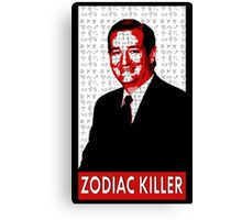 Ted Cruz the Zodiac Killer Canvas Print