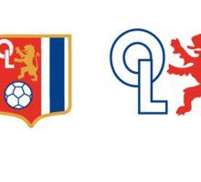 Olympique Lyonnais Logo Soccer Sticker
