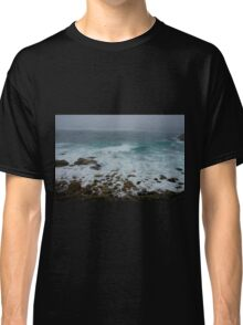 Unsettled Waters at Sennen Cove Classic T-Shirt