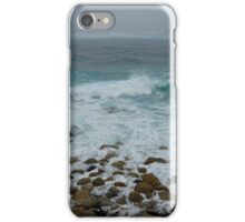 Unsettled Waters at Sennen Cove iPhone Case/Skin