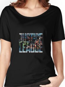 The Society League of Justice Women's Relaxed Fit T-Shirt
