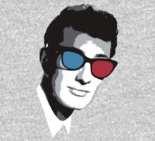 Buddy Holly 3D Glasses Kids Tee