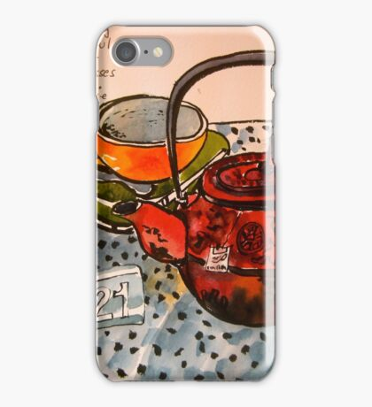 an empty cup iPhone Case/Skin