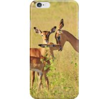 Impala - Motherly Love in Nature iPhone Case/Skin