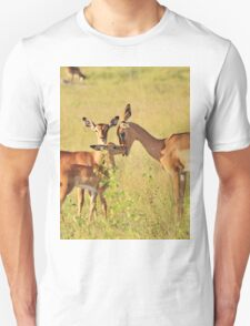 Impala - Motherly Love in Nature Unisex T-Shirt