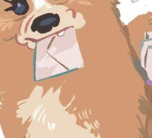 Hermione the Messenger  Sticker
