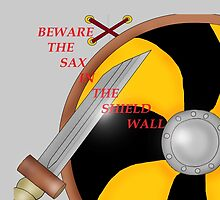Shield Wall  899 by Radwulf