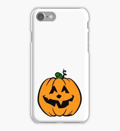 Halloween Pumpkin/ Jack-o-Lantern iPhone Case/Skin