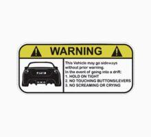 Toyota 86 Warning Drift T-Shirt