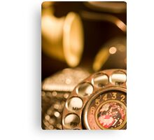 the phone Canvas Print