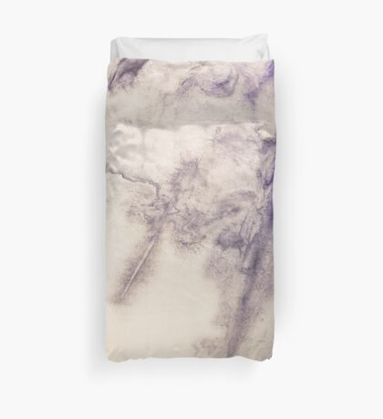 Attratively rugged modern abstract original ink design Duvet Cover