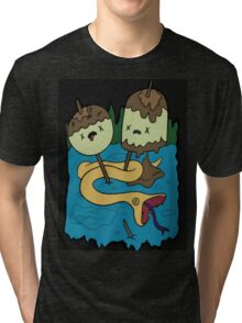 Bubbline shirt Tri-blend T-Shirt