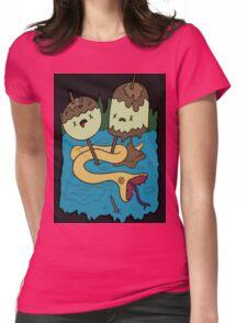 Bubbline shirt Womens Fitted T-Shirt
