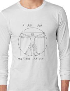 I am an anthro artist Long Sleeve T-Shirt