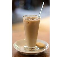 Iced Latte 1 Photographic Print