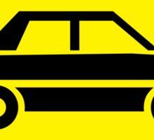 Cars Stay back Sticker