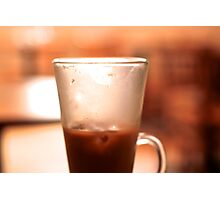 Iced Latte 4 Photographic Print