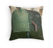 US Mail  Throw Pillow