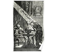 18th C. Visit from the Grim Reaper  Poster
