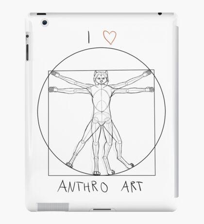 I love anthro art iPad Case/Skin