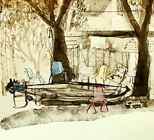 chair conversations by donnamalone