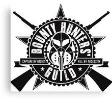 Bounty Hunters Guild Canvas Print