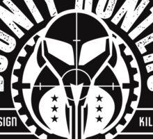 Bounty Hunters Guild Sticker