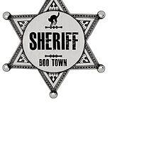 Halloween - Boo Town Sheriffs Badge  Costume by mralan