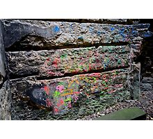 splash of colour Photographic Print