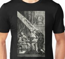 18th C. Visit from the Grim Reaper  Unisex T-Shirt