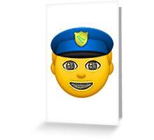 SkiCops // Say No to Narcotics Greeting Card