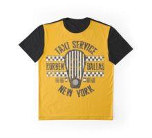 Korben Dallas Taxi Service Graphic T-Shirt