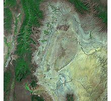 Capitol Reef Canyonlands National Parks Utah Satellite Image Photographic Print