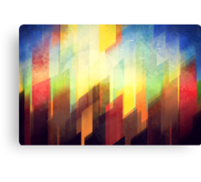 Minimalist Colorful Urban design Canvas Print