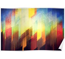 Minimalist Colorful Urban design Poster