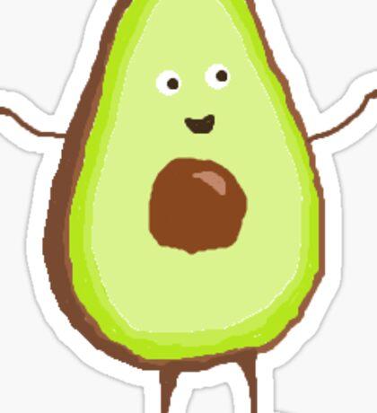 little avocado Sticker