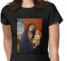 Renaissance Mother and Child  Womens Fitted T-Shirt