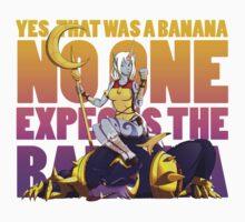No one expects the banana - Soraka/Warwick Kids Tee