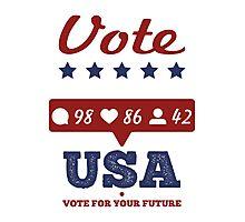 USA Election 2016 Photographic Print
