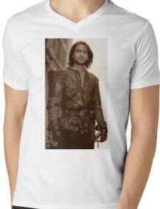 D'Artagnan Mens V-Neck T-Shirt