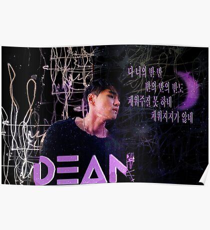 DEAN-Half Moon Poster
