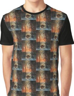 Falling Meteor (Rust Abstract) Graphic T-Shirt