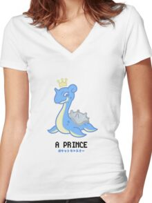 The prince Women's Fitted V-Neck T-Shirt