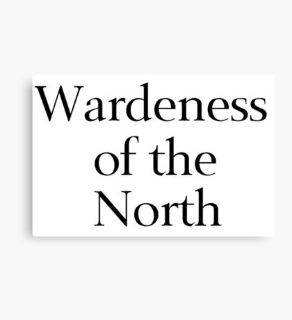 Wardeness of the North Canvas Print