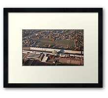 Sunrise over Indianapolis Motor Speedway  Framed Print