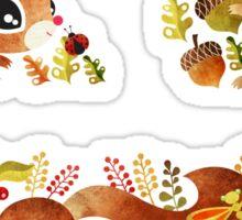 Playful Squirrel Sticker