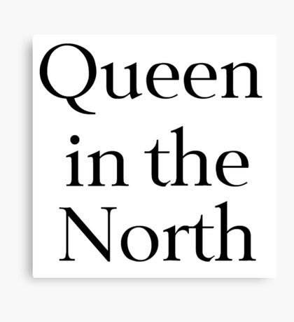 Queen in the North Canvas Print