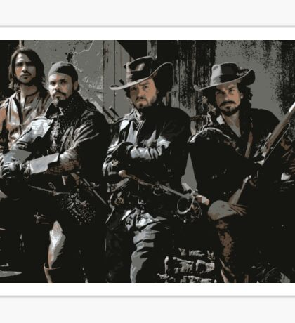 Musketeers 2 Sticker