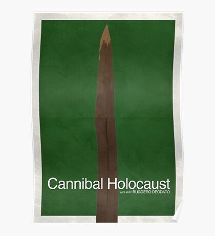 Cannibal Holocaust - Minimal Poster Poster